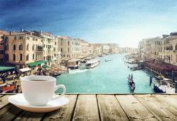 Kaffee in Venedig