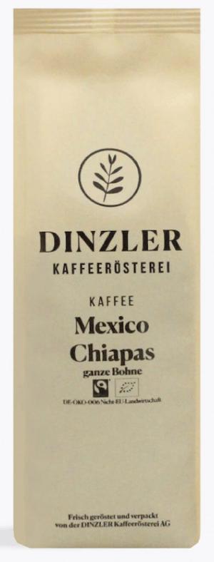 Dinzler Kaffee Mexico Chiapas Fairtrade