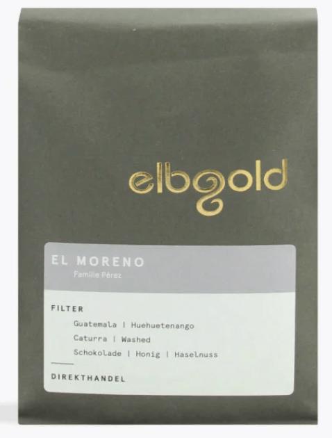 Elbgold Guatemala El Moreno