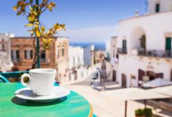 Kaffee trinken in Italien