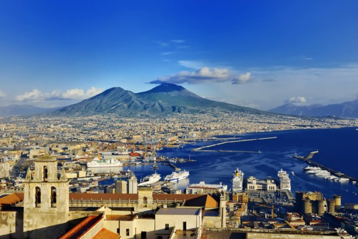 Neapel Land des Kaffees