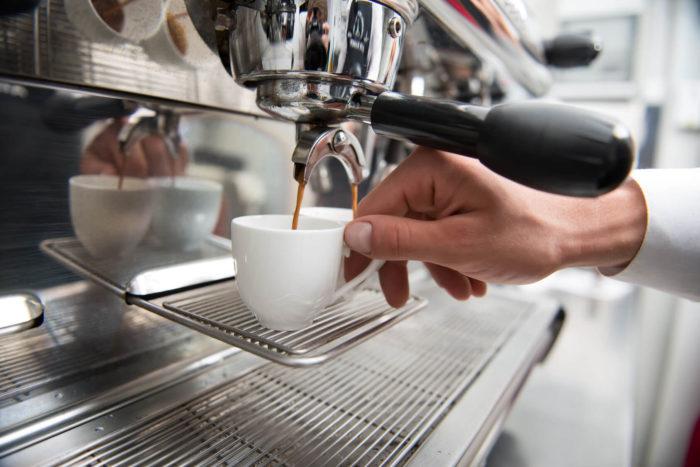 Barista Kaffee Zubereitung