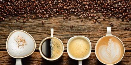 affeebohnen für verschiedene Kaffeearten