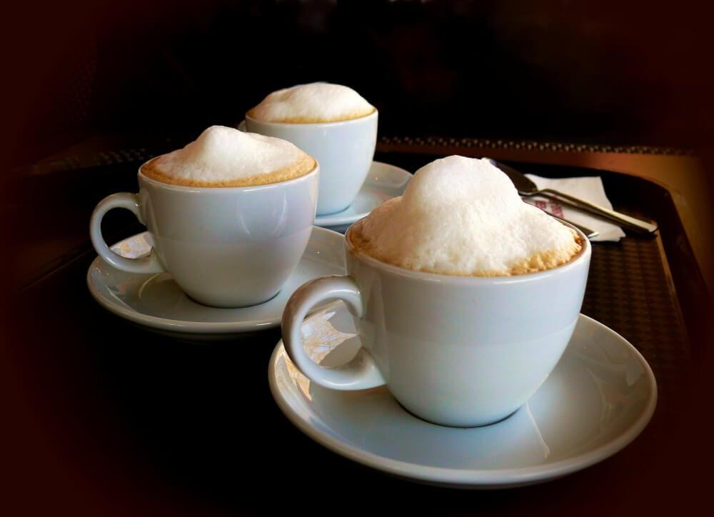 Cappuccino mit Milchschaum