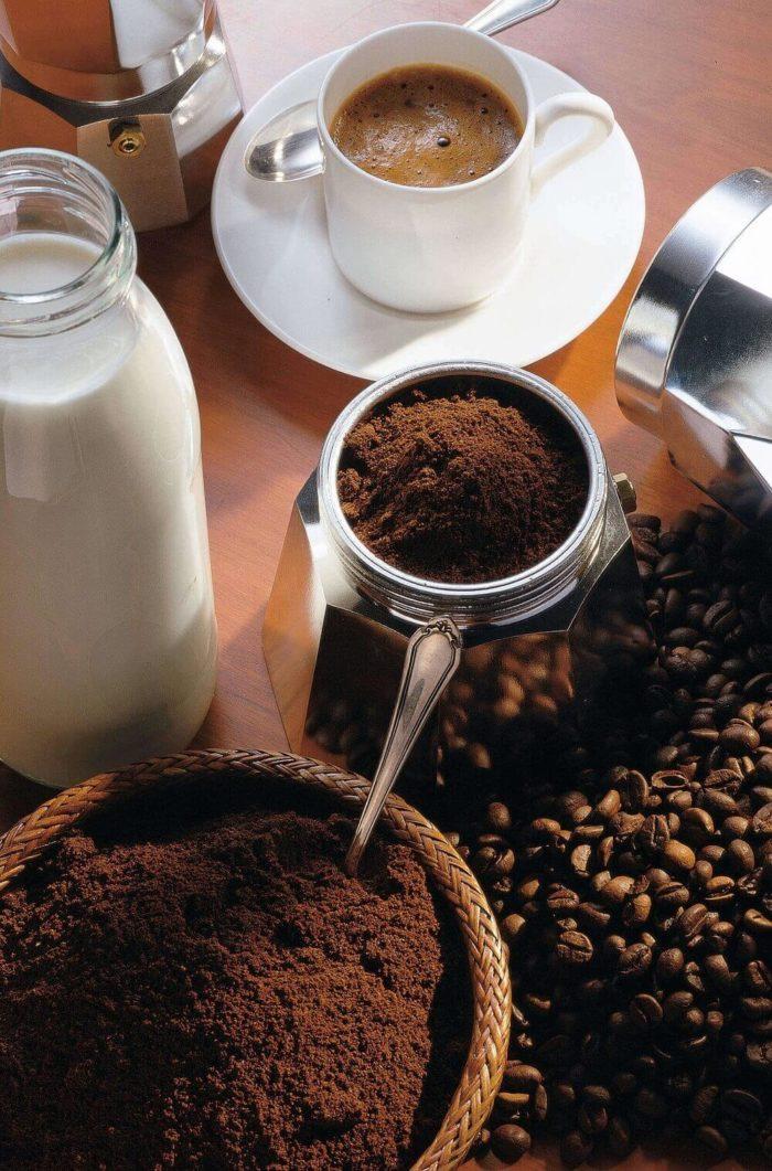 frisch gemahlener Kaffee schmeckt am besten