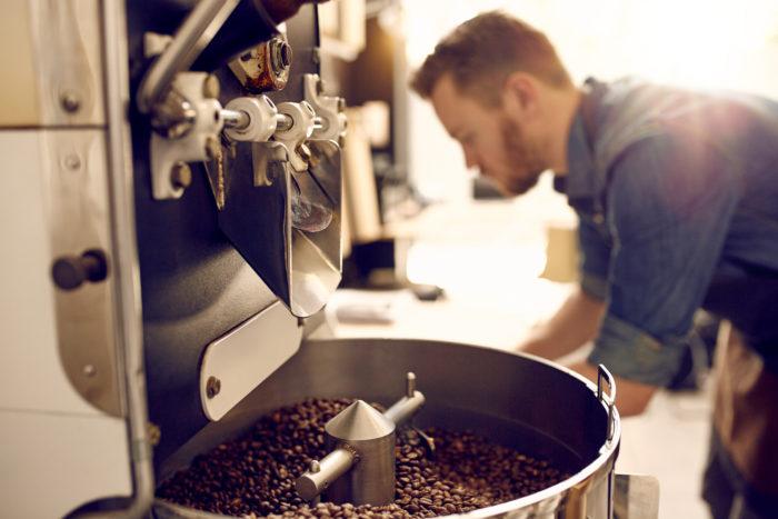 Show- Kaffee Röstung, Tag des Kaffees