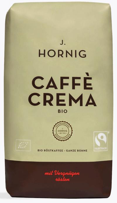 J. Hornig Caffè Crema Bio 1kg
