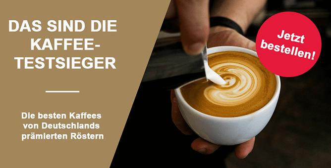 Die Kaffees der Testsieger im Probierpaket