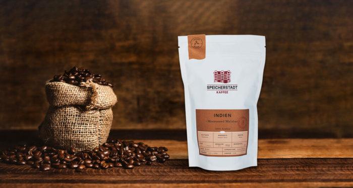 Speicherstadt Arabica Kaffee Indien Monsooned Malabar