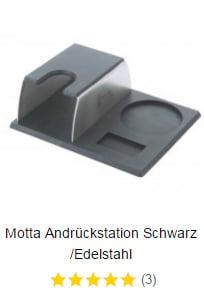 Motta Andrueckstation Schwarz Edelstahl