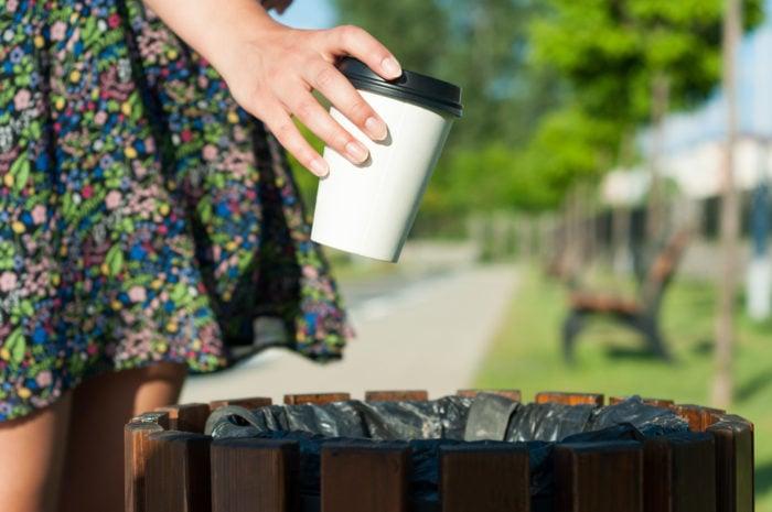 Umwelt und Kaffee