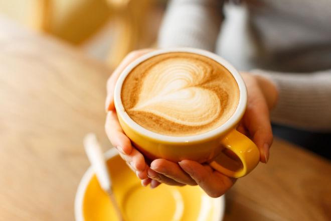 Caffè Doppio mit Milch