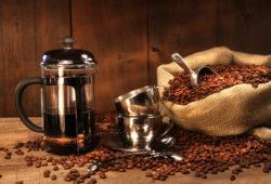 French Press Kaffee Zubereitung in wenigen Schritten