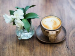 Besonderer Kaffee
