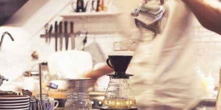 slow food kaffeezubereitung brühvorgang