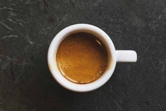 Espresso Test 2019 - Espressotasse von oben