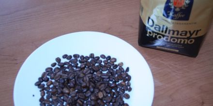 Dallmayr Prodomo Verpackung Kaffeebohnen