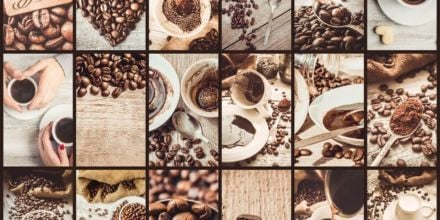 Kaffee-Collage-Craft-Kaffee