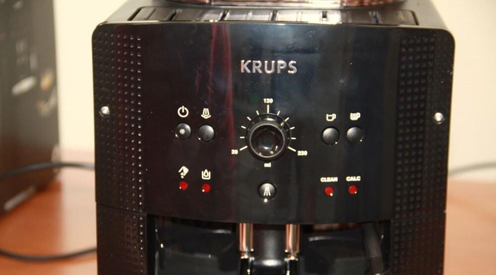 Krups EA 8108 Front Tasten