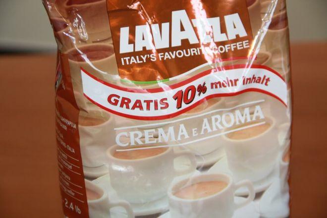 Lavazza-crema-e-aroma Kaffeeverpackung