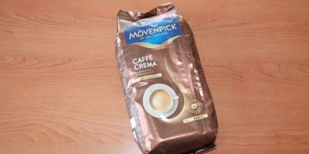 Mövenpick Caffè Crema Verpackung auf dem Tisch