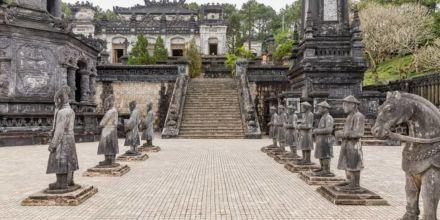 Vietnam Unesco welterbe statuen