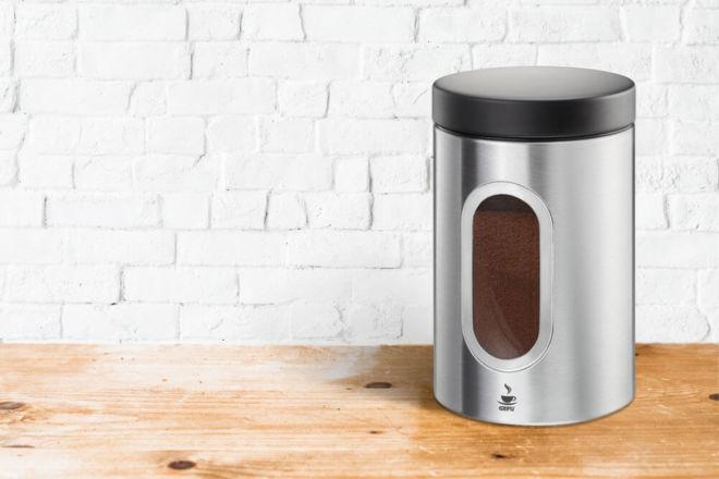 Kaffee aufbewahren in Kaffeedose