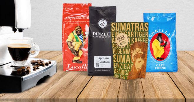 Bohnen für Kaffeevollautomaten kaufen