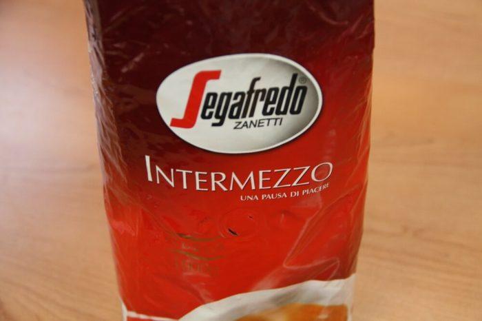 Segafredo Intermezzo Verpackung von vorn
