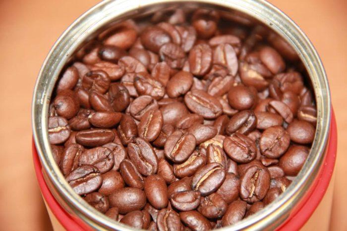 Illy Espresso-Röstung-N Bohnenbild in Dose