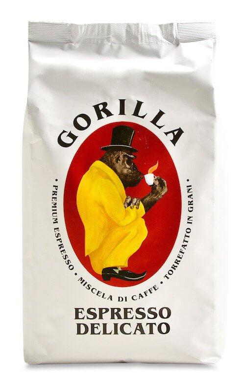 Gorilla Espresso Delicato 1kg