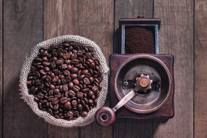 Kaffeebohnen aus einer Kaffeerösterei Bayern