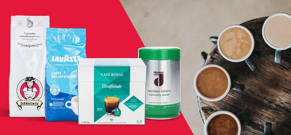 Koffeinfreien Kaffee kaufen