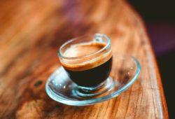 Dunkler italienischer Espresso