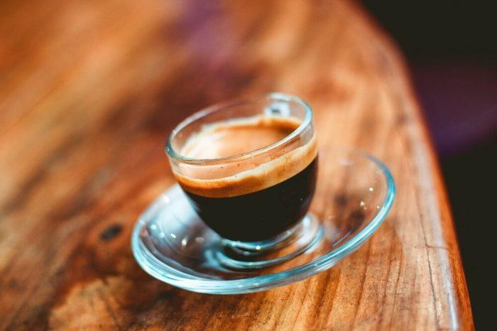 Dunkle Espresso-Variante