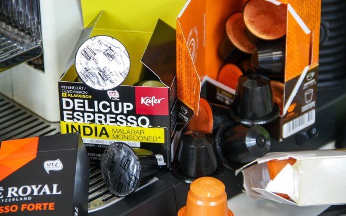 Käfer Delicup Espresso India Kapseln Packung