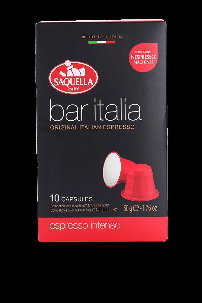 Saquella Bar ITALIA Intenso 10 Kapseln