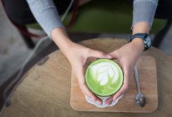 Matcha Tee Latte Art