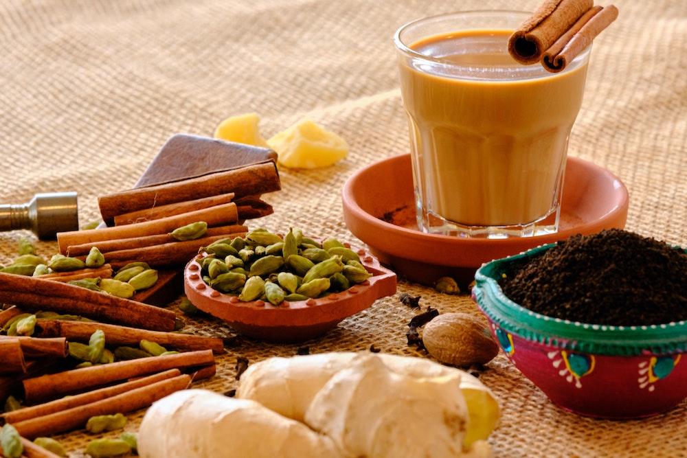 Masala Chai Gewürz-zubereitung für Chai Latte Getränk
