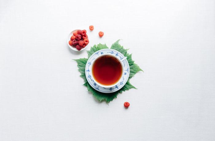 Japanischer Tee in einer Tasse