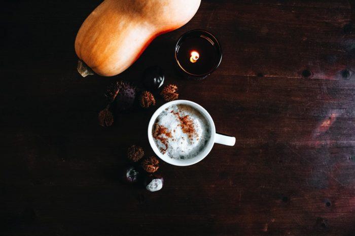 Butternut-Kürbis mit Latte Macchiato