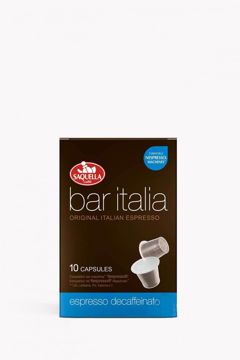 Saquella Bar ITALIA Dekaf 10 Kapseln