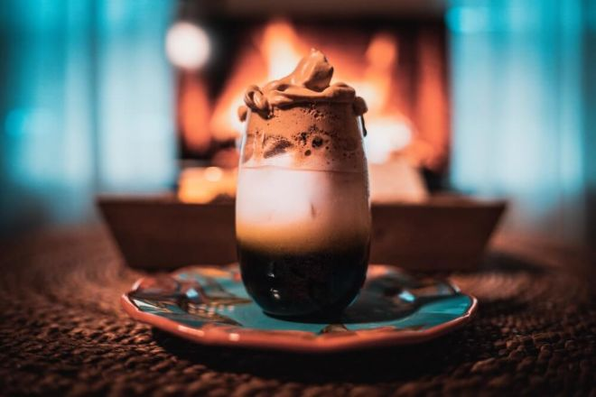 Iced Dalgona Coffee