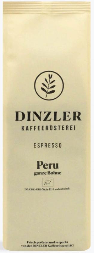 Dinzler Espresso Peru Organico