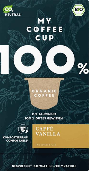 My Coffee Cup Caffe Vanilla Bio