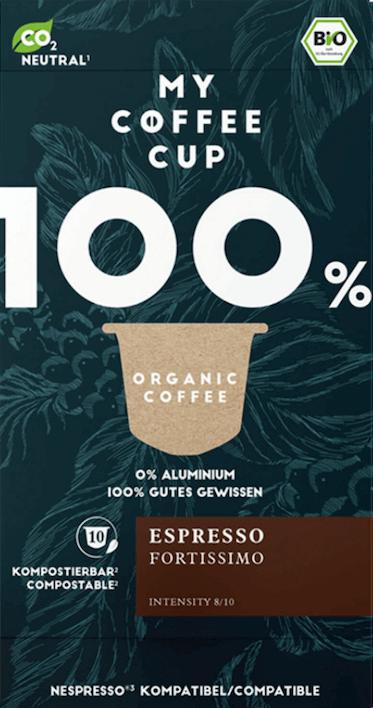 My Coffee Cup Espresso Fortissimo Bio