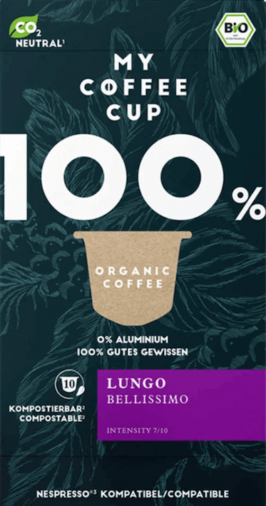 My Coffee Cup Lungo Belissimo Bio