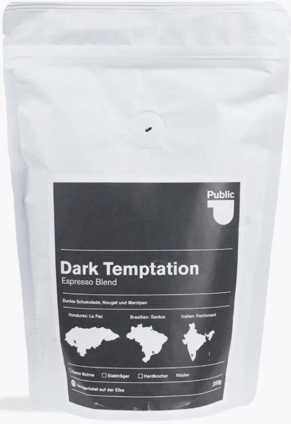 Public Coffee Roasters Dark Temptation