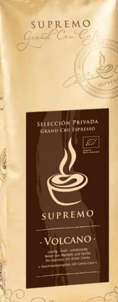 Supremo Volcano Espresso Bio