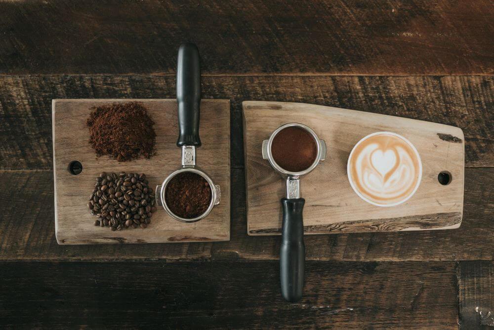 Siebträgermaschine Zweikreiser: Latte Art